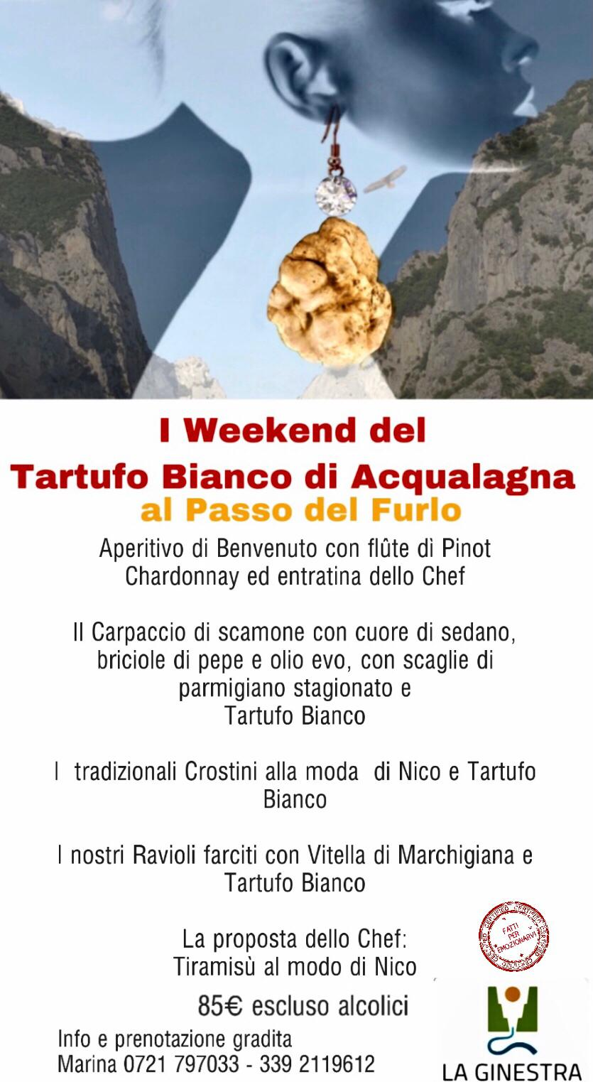 i weekend del Tartufo di Acqualagna